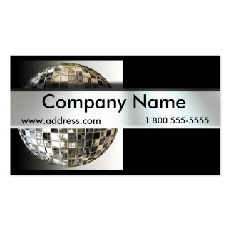 Mirrorball Dancing Business Cards