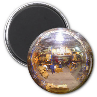 Mirrorball Disco Ball 2 Inch Round Magnet