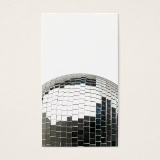 Mirrorball Disco Ball Business Card