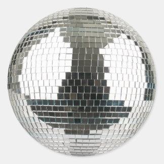 Mirrorball Disco Ball Classic Round Sticker