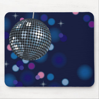 Mirrorball Mouse Pad