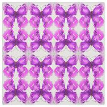 Mirrored Awareness Butterflies Fabric