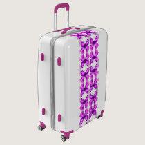 Mirrored Awareness Butterflies Luggage