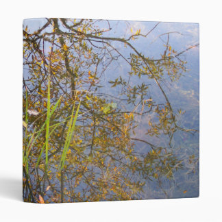Mirrored Branches 3 Ring Binder