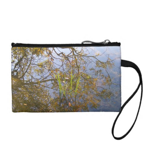 Mirrored Branches Coin Purse