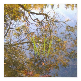 Mirrored Branches Invitation