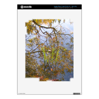Mirrored Branches iPad 3 Decal