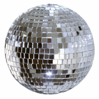 Mirrored Disco Ball 1 Statuette