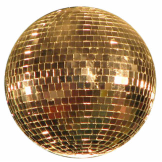 Mirrored Disco Ball 2 Statuette