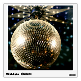 Mirrored Disco Ball 3 Wall Decal