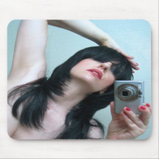 Mirrored Expressions 1 - Self Portrait Mousepads