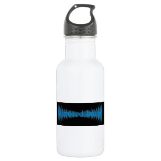 Mirrored Image band Stainless Steel Water Bottle