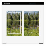 Mirrored Lake Decals For Kindle Fire
