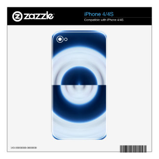 Mirrored Sky Skins For The iPhone 4