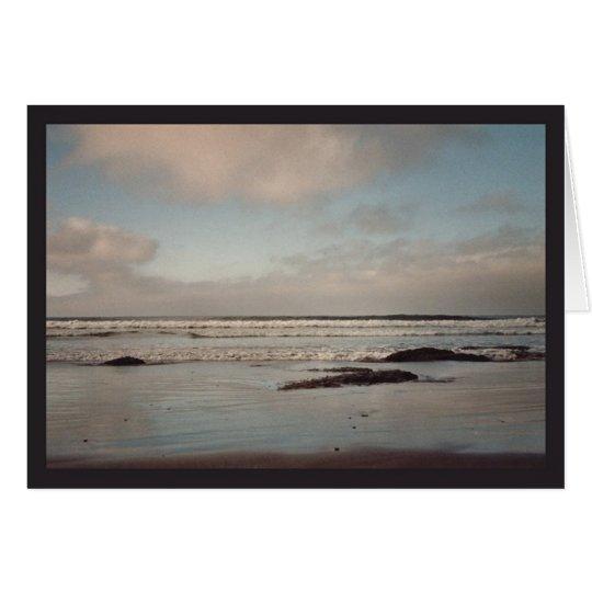 Mirrored Surf Card
