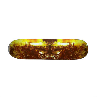 Mirrored Tree Skateboard Deck