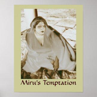 Miru's Temptation Poster Print