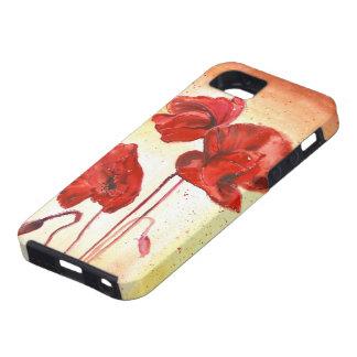 Mis amapolas en el verano iPhone 5 Case-Mate carcasas