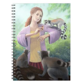 Mis amigos del Lemur Note Book