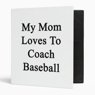 Mis amores de la mamá para entrenar béisbol