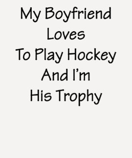 Mis amores del novio para jugar hockey y me son su camisetas