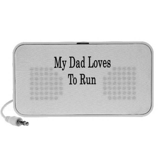 Mis amores del papá a correr sistema de altavoz