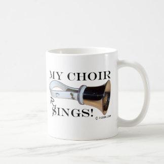 Mis anillos del coro taza de café
