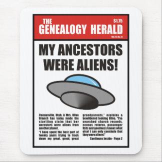 ¡Mis antepasados eran extranjeros! Mousepads