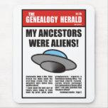 ¡Mis antepasados eran extranjeros! Alfombrilla De Ratón