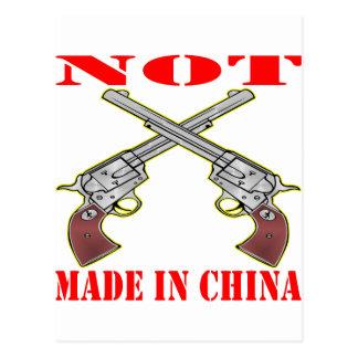 Mis armas no se hacen en China Postal