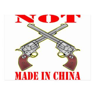 Mis armas no se hacen en China Tarjetas Postales