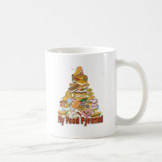 Mis bocados de Junk Food del ~ de la pirámide de a Tazas