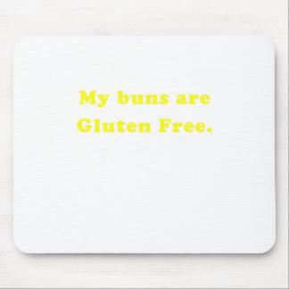 Mis bollos son gluten libre tapete de ratón