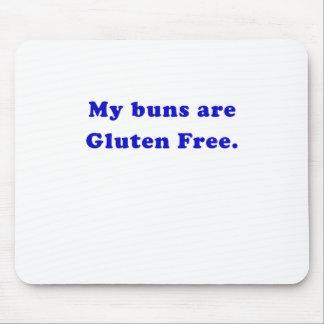 Mis bollos son gluten libre tapetes de ratón