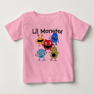 Mis camisetas del bebé del monstruo de Lil