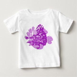 Mis camisetas del bebé del sweety polera