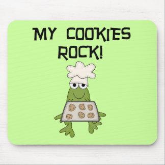 Mis camisetas y regalos de la roca de las galletas alfombrilla de ratón