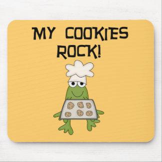 Mis camisetas y regalos de la roca de las galletas alfombrillas de raton