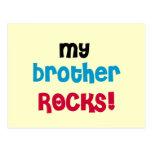 Mis camisetas y regalos de las rocas de Brother Tarjeta Postal