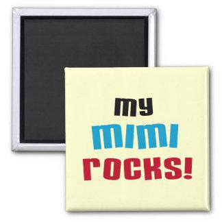 Mis camisetas y regalos de las rocas Mimi Imán Cuadrado