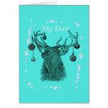 Mis ciervos tarjetas