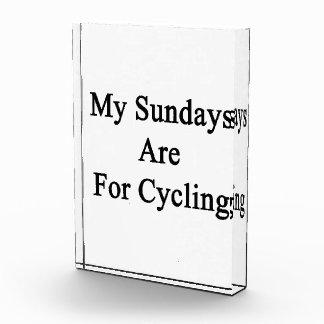Mis domingos están para completar un ciclo