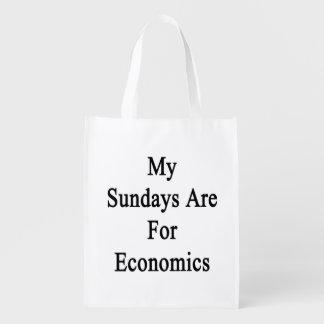 Mis domingos están para la economía bolsas para la compra