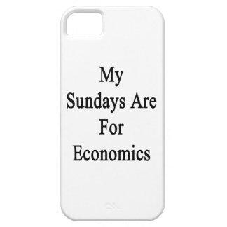 Mis domingos están para la economía iPhone 5 cárcasa