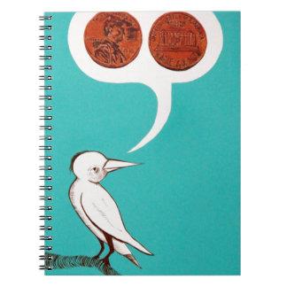"""""""Mis dos centavos """" Cuadernos"""