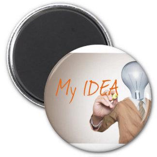 Mis empresarios de la idea el | del negocio, Boss, Imán Redondo 5 Cm