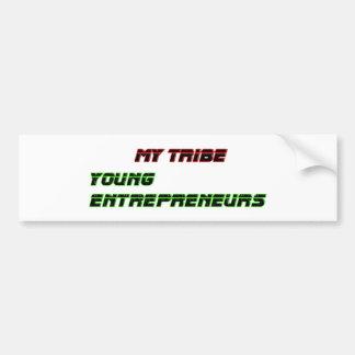 Mis empresarios jovenes de la tribu el GIF de Zazz Pegatina Para Auto