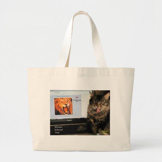 Mis estudios del gato en el MIT Bolsa De Tela Grande