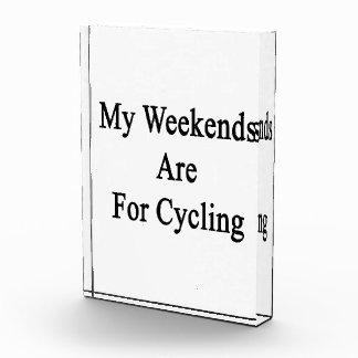 Mis fines de semana están para completar un ciclo