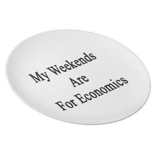 Mis fines de semana están para Econocmis